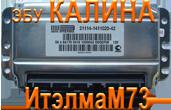Блок управления двигателем, мозги на Калину М73 Ителма купить в Оренбурге